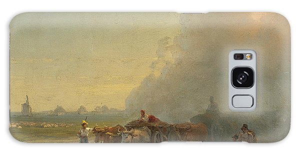Cart Galaxy Case - Ox-carts In The Ukrainian Steppe by Ivan Aivazovsky