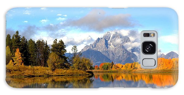 Mt Moran At Oxbow Bend Galaxy Case