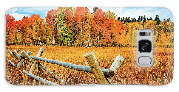Oxbow Bend Fall Color Galaxy Case
