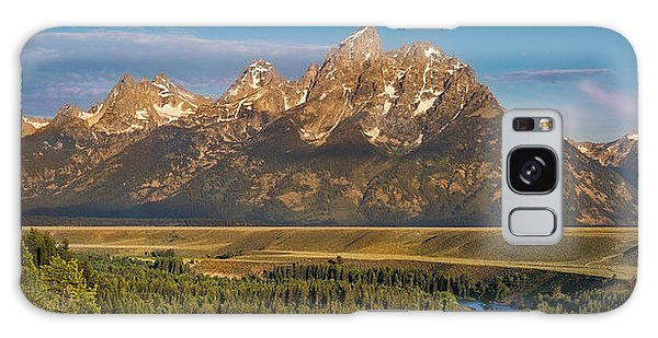 Teton Range Galaxy Case - Oxbow Bend Grand Tetons by Steve Gadomski