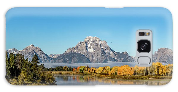 Oxbow Bend Reflecting Galaxy Case by Mary Hone