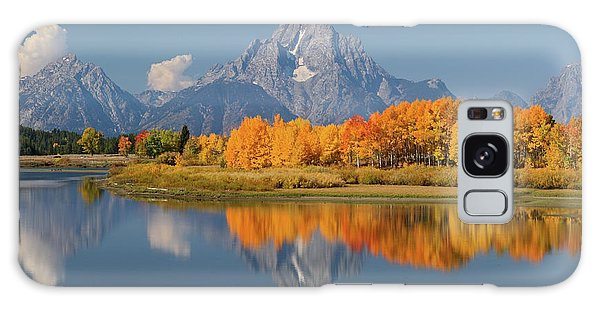 Oxbow Bend Reflection Galaxy Case