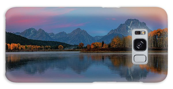 Beautiful Sunrise Galaxy Case - Oxbows Reflections by Edgars Erglis