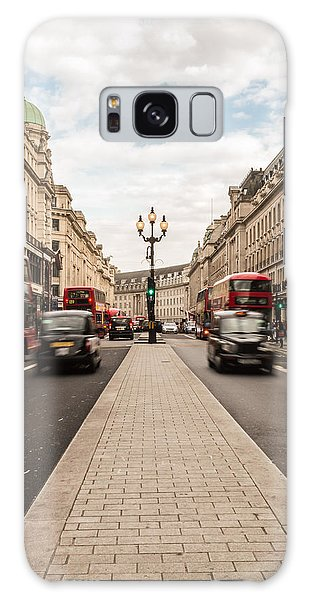 Oxford Street In London Galaxy Case