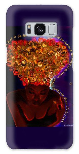 Oya Galaxy Case by Iowan Stone-Flowers