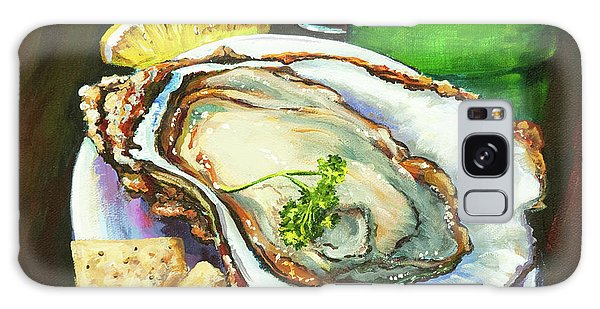 Oyster And Crystal Galaxy Case