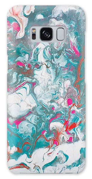 Oysters And Pearls Galaxy Case