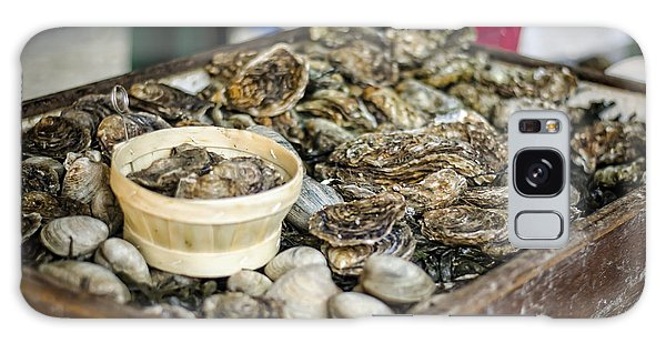 Oysters At The Market Galaxy Case