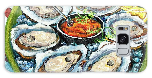 Food Galaxy Case - Oysters On The Half Shell by Dianne Parks