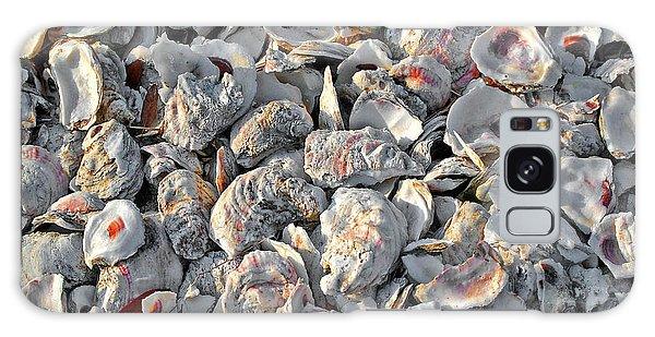 Oysters Shells Galaxy Case