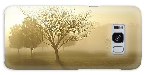 Ozarks Misty Golden Morning Sunrise Galaxy Case