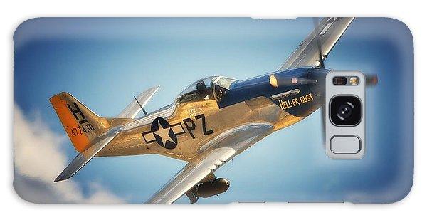 P-51 Mustang Hell Er Bust Galaxy Case
