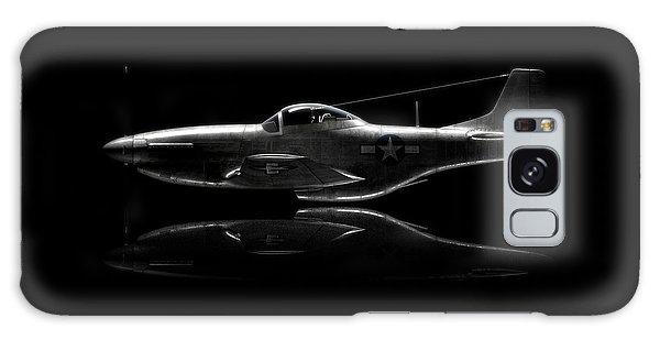 P-51 Mustang Profile Galaxy Case by David Collins