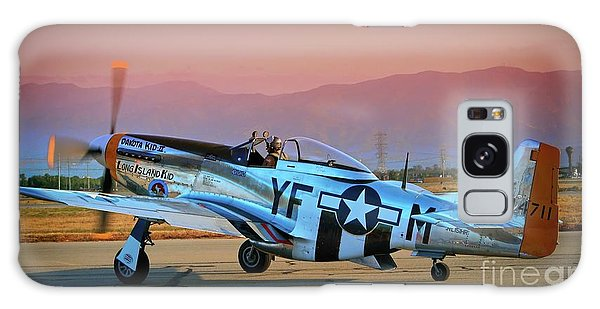 P-51d Mustang 'dakota Kid II. The Long Island Kid' And Casey Odegaard Galaxy Case