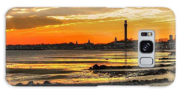 P Town Sunset Galaxy Case by John Nielsen