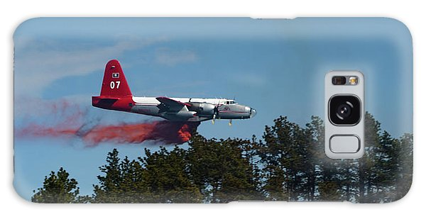 P2v Red Canyon Fire Galaxy Case by Bill Gabbert