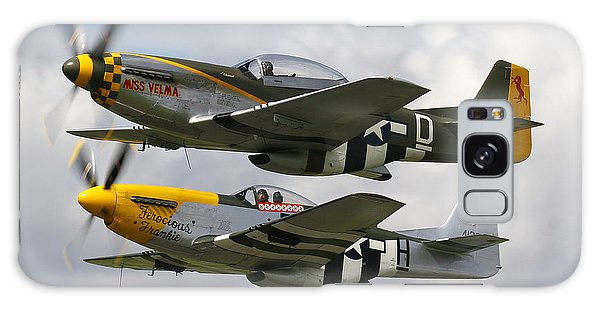 P51 Mustangs Galaxy Case by Ken Brannen