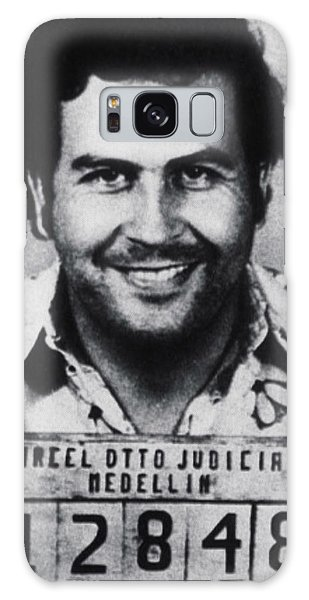 Pablo Escobar Mug Shot 1991 Vertical Galaxy Case