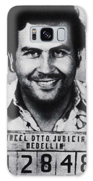 Pablo Escobar Mug Shot 1991 Vertical Galaxy Case by Tony Rubino