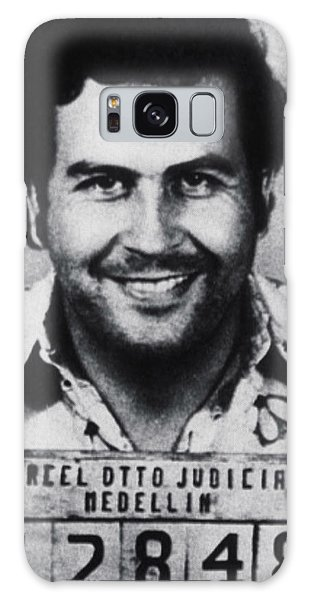Pablo Escobar Mug Shot 1991 Vertical Galaxy Case