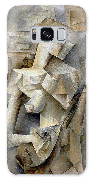 Pablo Picasso Girl With A Mandolin 1910 Galaxy Case