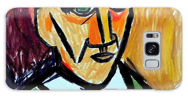 Pablo Picasso 1907 Self-portrait Remake Galaxy Case