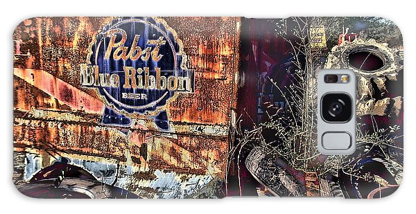 Conyers Galaxy Case - Pabst Blue Ribbon Delievery Truck by Corky Willis Atlanta Photography