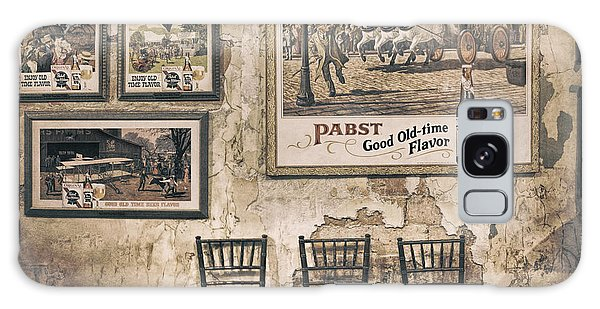 Time Frame Galaxy Case - Pabst Good Old Time Flavor by Scott Norris