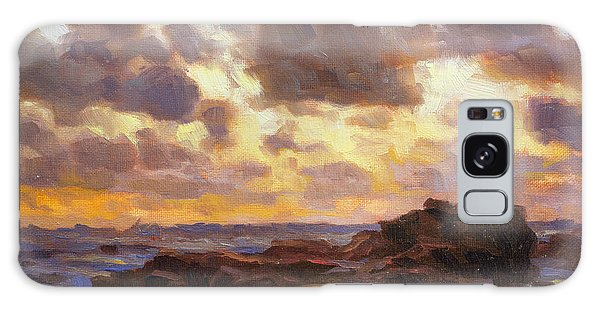 Pacific Ocean Galaxy Case - Pacific Clouds by Steve Henderson