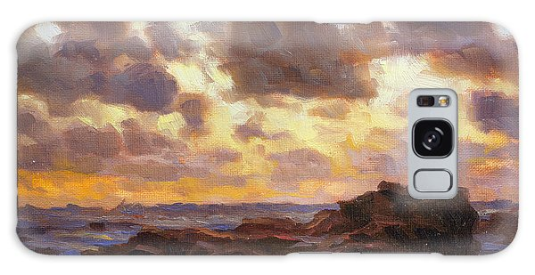 Tides Galaxy Case - Pacific Clouds by Steve Henderson