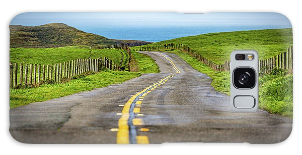 Pacific Coast Road To Tomales Bay Galaxy Case