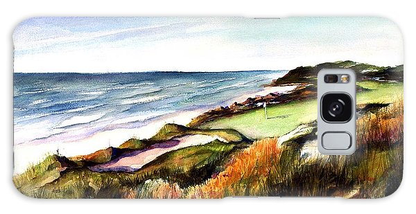 Pacific Dunes Golf Course Galaxy Case