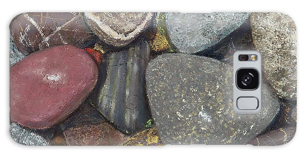 Pacific Nw Beach Rocks Galaxy Case
