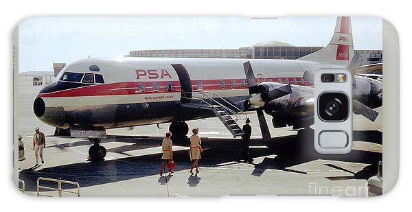 Pacific Southwest Airlines Lockheed L-188c, N376ps Galaxy Case