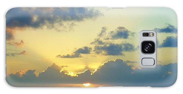Pacific Sunrise, Japan Galaxy Case by Susan Lafleur