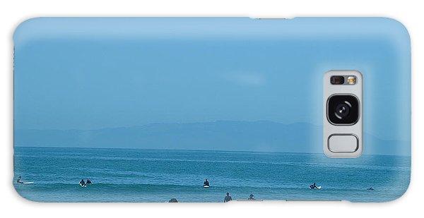 Pacifica Beach Galaxy Case