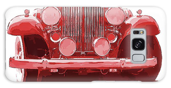 Packard Ask The Man Red Galaxy Case