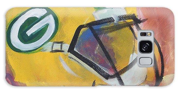 Packer Helmet Galaxy Case by Terri Einer