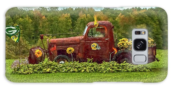Packers Plow Galaxy Case by Trey Foerster