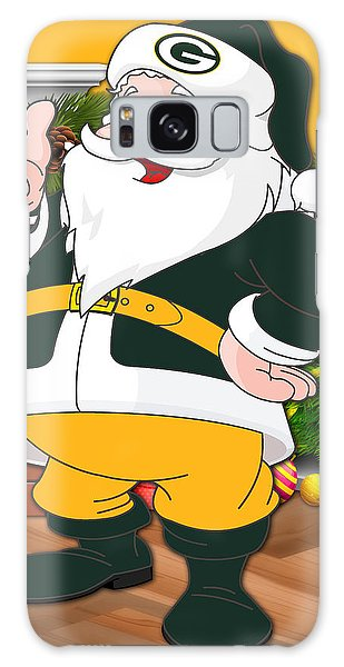 Santa Claus Galaxy Case - Packers Santa Claus by Joe Hamilton
