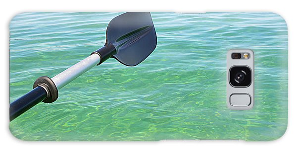 Paddling Grand Traverse Bay Galaxy Case