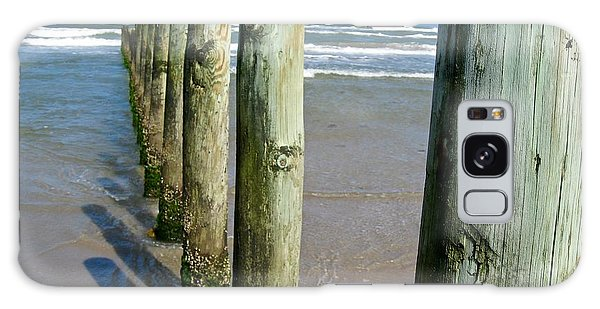 Padre Island National Seashore Galaxy S8 Case - Padre Island  by Leah Cimmelli-Orfini
