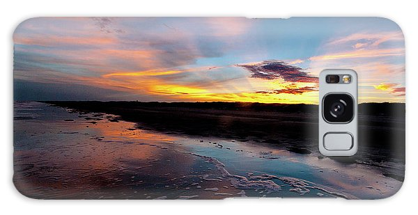 Padre Island National Seashore Galaxy S8 Case - Padre Island National Seashore Sunset by JB Manning