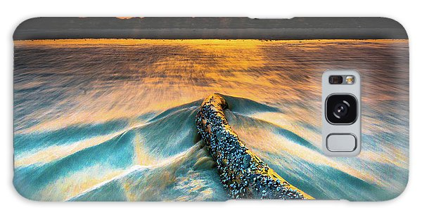 Padre Island National Seashore Galaxy S8 Case - Padre Island National Seashore Surf - 1 by JB Manning