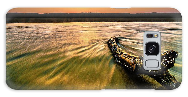 Padre Island National Seashore Galaxy S8 Case - Padre Island National Seashore Surf - 2 by JB Manning