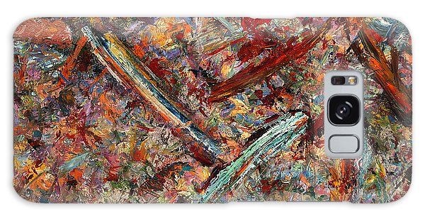 Abstract Expressionism Galaxy Case - Paint Number 30 by James W Johnson