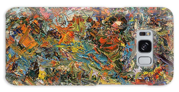 Abstract Expressionism Galaxy Case - Paint Number 35 by James W Johnson