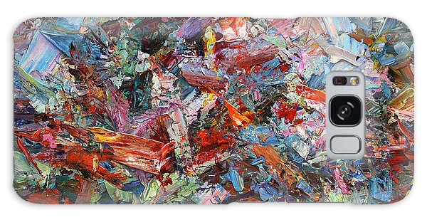 Abstract Expressionism Galaxy Case - Paint Number 42-a by James W Johnson