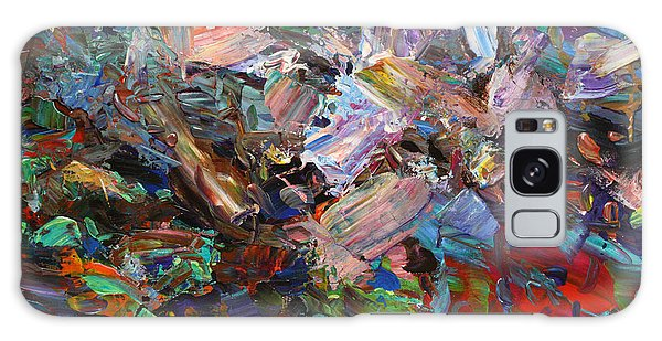 Abstract Expressionism Galaxy Case - Paint Number 42-c by James W Johnson