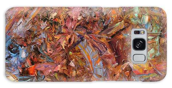 Abstract Expressionism Galaxy Case - Paint Number 43b by James W Johnson